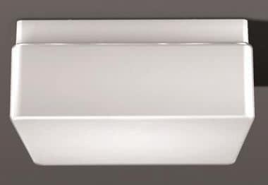 RZB Opalglas-Leuchte 2x60W
