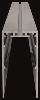 Schmitz Aluminiumprofil, 136-001-200-2000