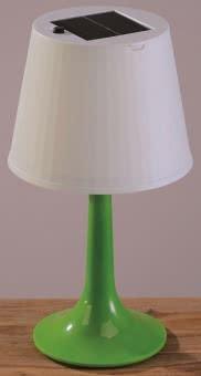 KONS Solar-Tischleuchte grün 7109-602