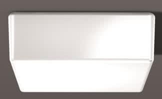 RZB Nurglasleuchte DKN-Quadrat 10430.002