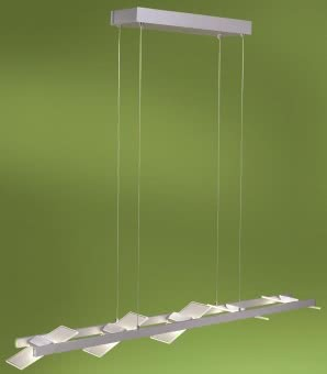 Neuhaus LED-Pendelleuchte Alu geb. 8005-95