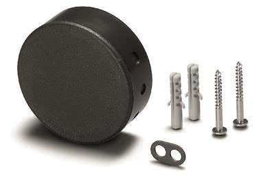VOSS Deckenverteiler 68mm schwarz 990122