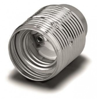 VOSS Metall Fassung E27 messingf. 102842