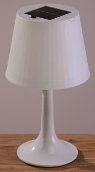 KONS Solar-Tischleuchte weiß 7109-202
