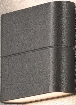 Gnosjo LED-Fassadenleuchte 2x6W