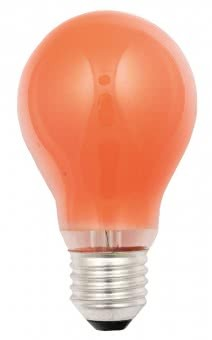 Scharnberger Glühlampe 25W E27 orange