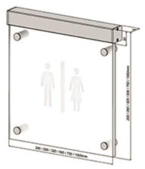 Scharnberger LED-Hinweisschild Beschriftung 54306